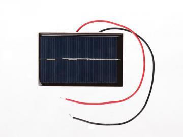 Petite cellule solaire 0.5v 800mA SOL2N