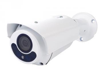 Caméra HD CCTV - HD TVI éxtérieur cylindrique IR lentille varifocale motorisé 180P blanc