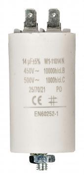 Condensateur de démarrage 14µF 450V